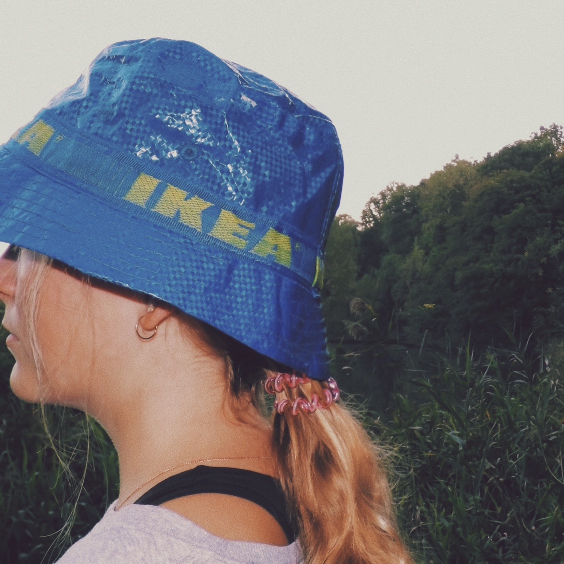 Ikea Bucket Hat Only Sold In The Us Retro Rare Depop