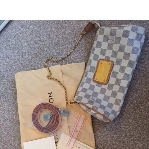 f365aa04c346 Louis Vuitton Eva clutch versatile doubles as a crossbody in - Depop