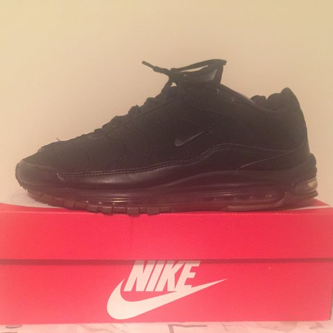 air max 97 x tn sl hybrid black suede 2008 release in a is depop