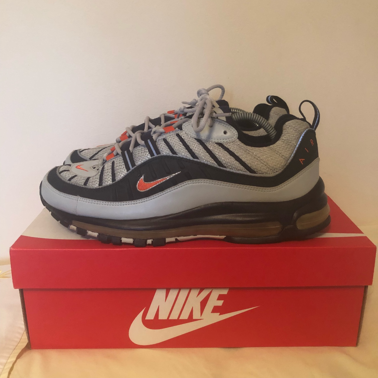 "reputable site d62a8 72cc2 Air Max 98 ""JD Sports"" European Exclusive in a UK10.... - Depop"