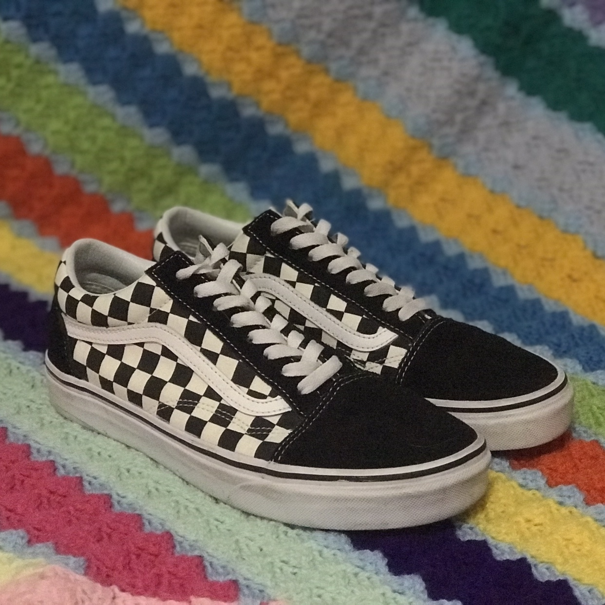 * VANS OLD SKOOL CHECKERBOARD * PRIMARY CHECK