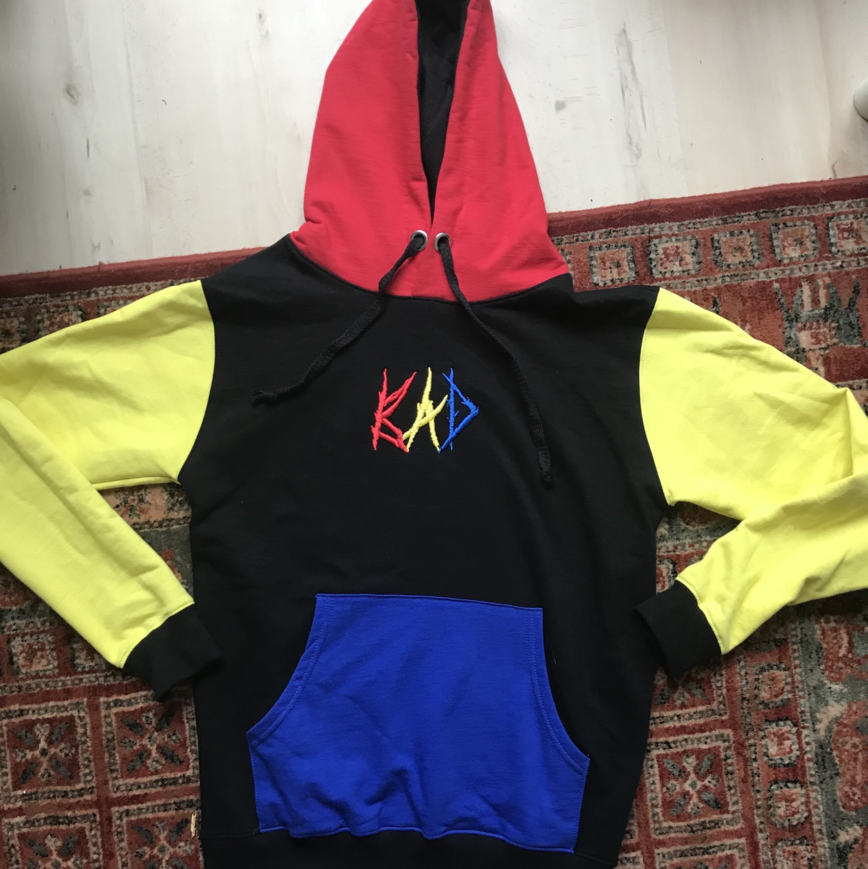 Bad Hoodie from the official Bad Vibes Forever    - Depop