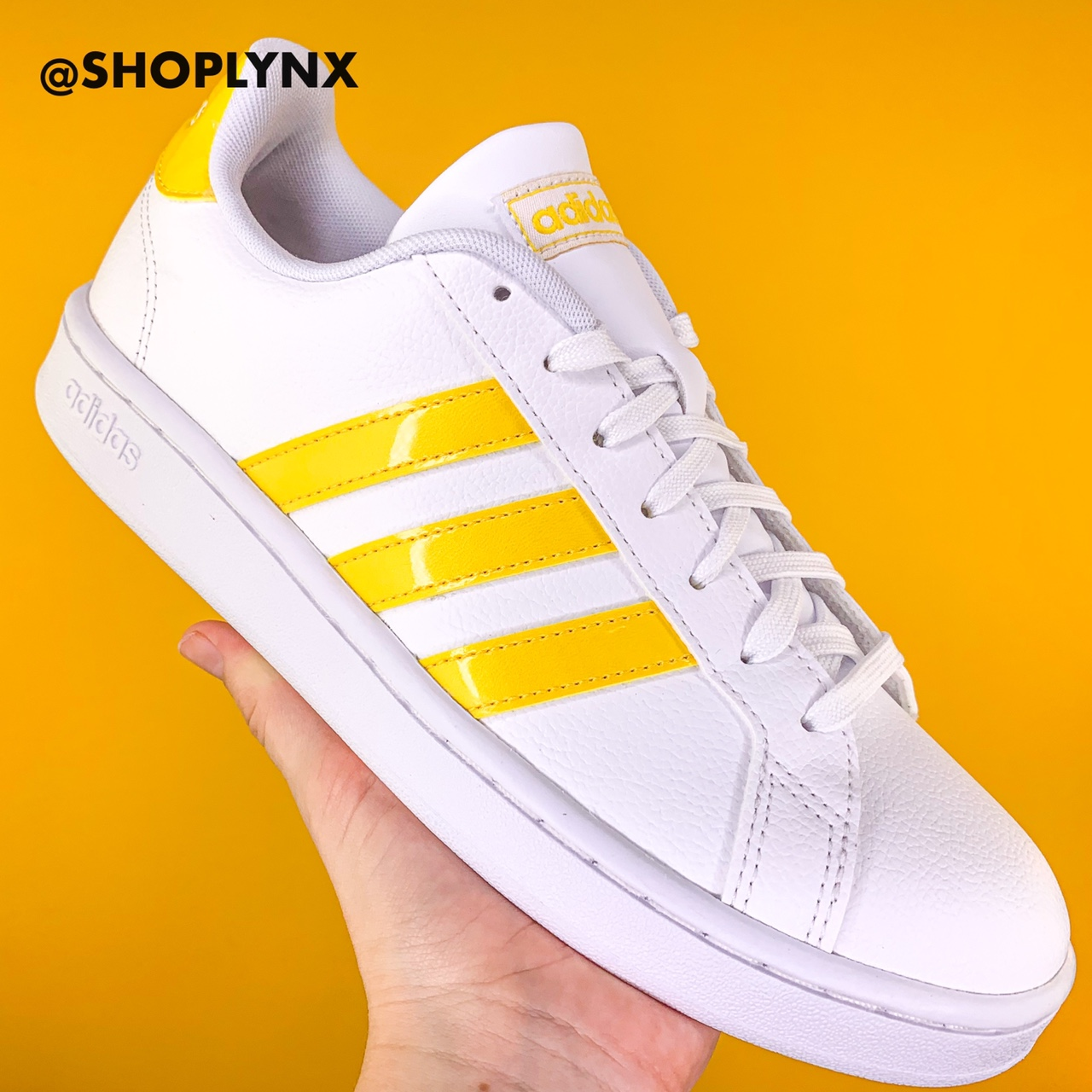 adidas grand court yellow Shop Clothing