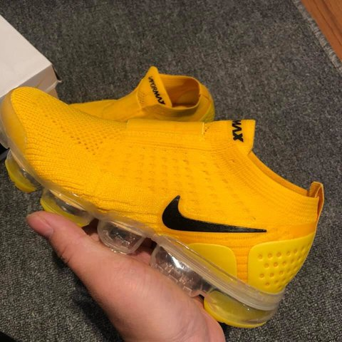 b94d099a91 NEW SIZES AVAILABLE NOW! ⚡ Nike VaporMax Yellow ⚡ Brand - - Depop