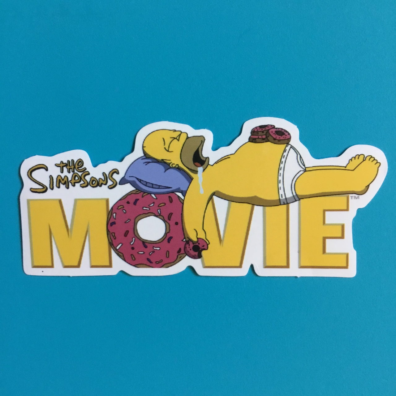 The Simpsons Movie Sticker Mix Match Message For Depop