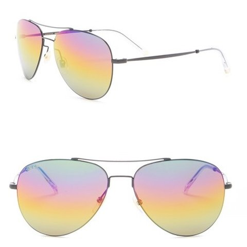 be40694f67b90 Gucci rainbow aviator sunglasses. Super lightweight and with - Depop