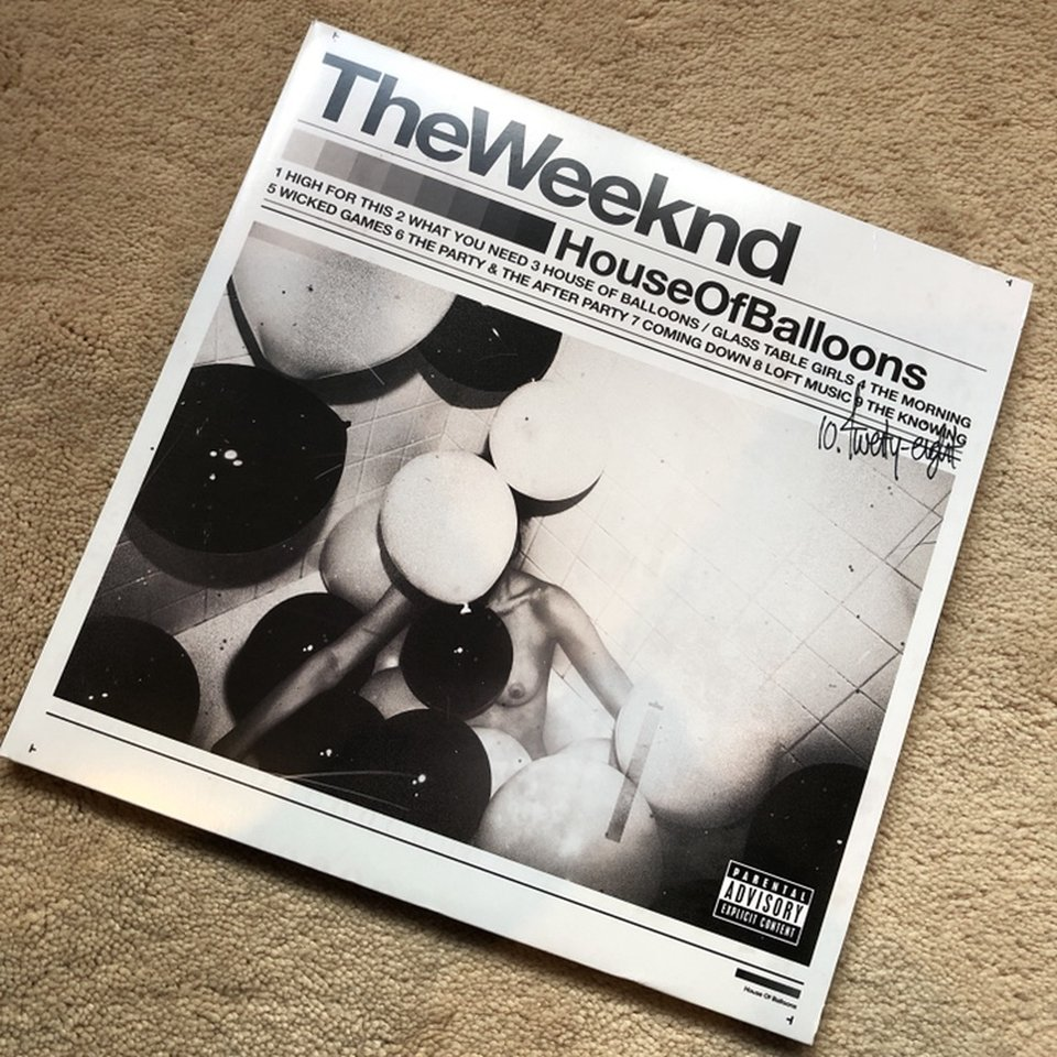 The Weeknd House Of Balloons Vinyl No Scratches Or Depop