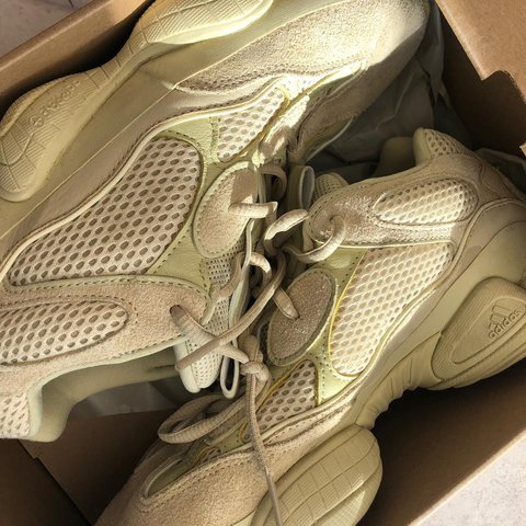 dbe82f2bf Adidas Yeezy 500 Supermoon Yellow Used - judge condition for - Depop