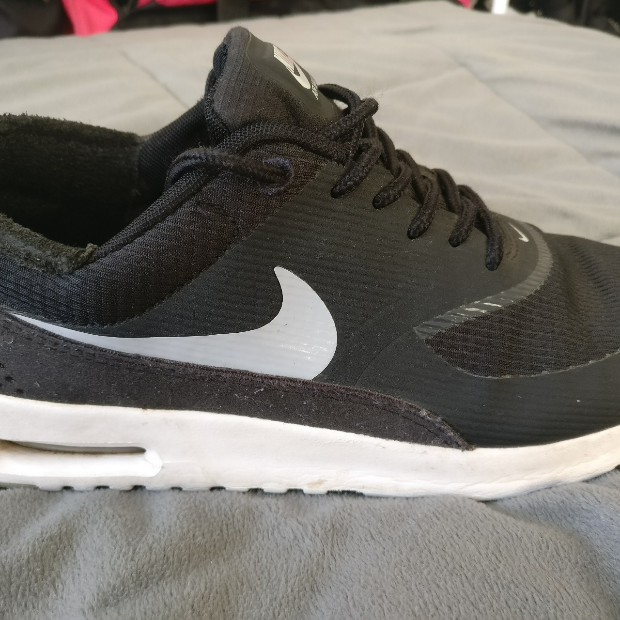 Nike Air Max Thea Women's. Black and White. Second
