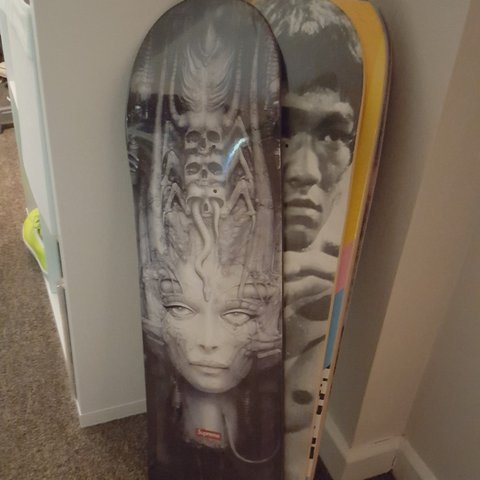Siimoon Last Year Eastbourne Uk Supreme H R Giger Deck