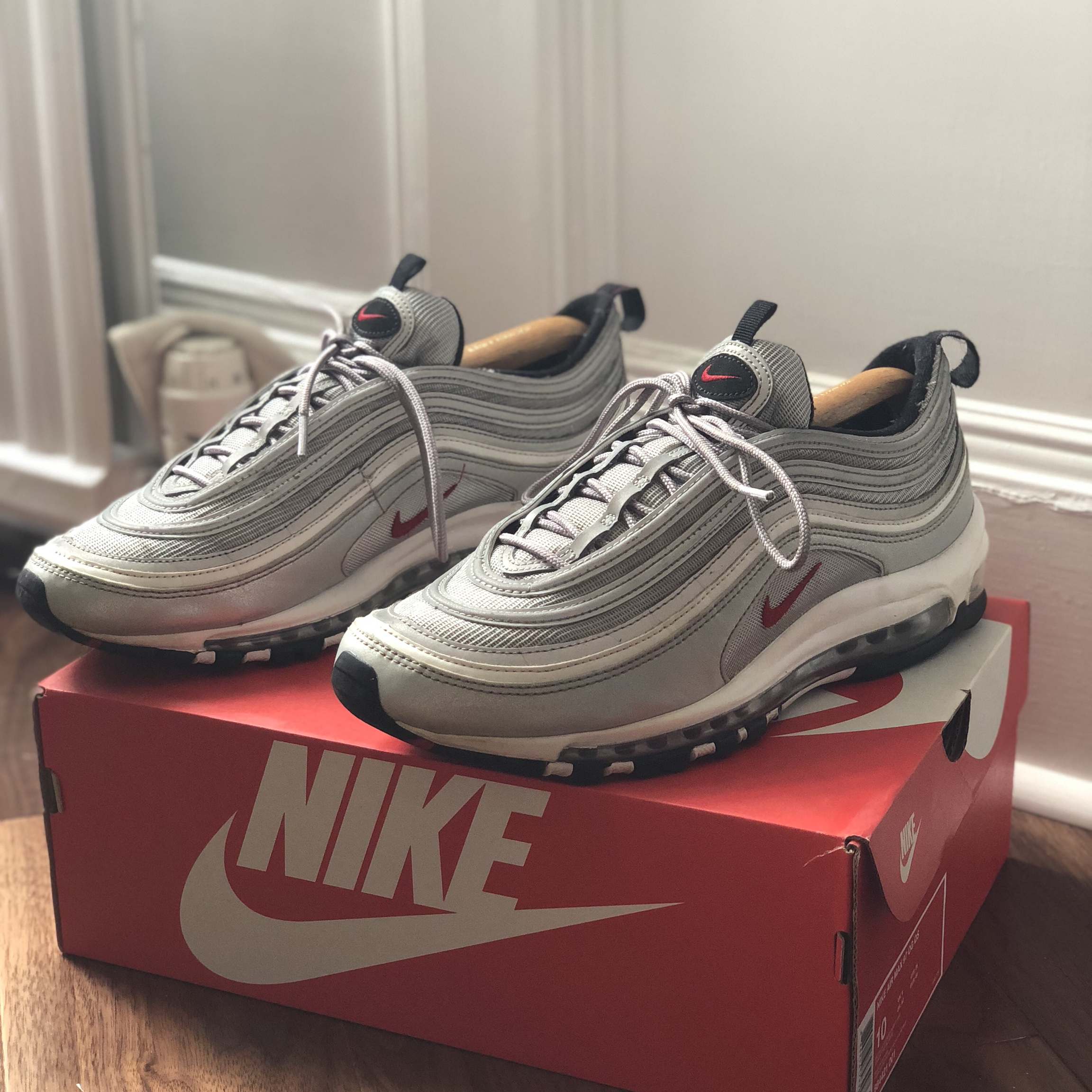 Nike Air Max 97 'Silver Bullet' Limited edition, Depop
