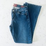 96b85fdcabb Lucky Brand Sofia Boot Cut Jeans 6/28 Mid-rise with a higher - Depop