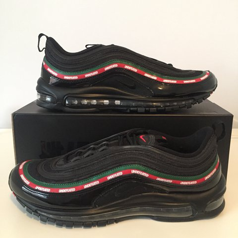 Nike Air max 97 x Undefeated Size 10 Brand new never worn - Depop 7a6dfe94a