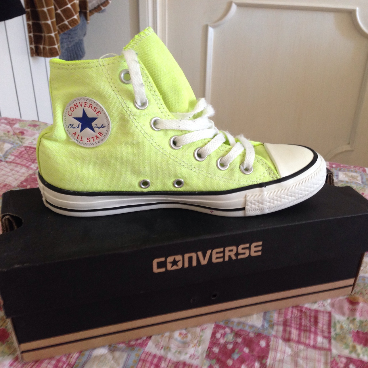 converse all star giallo fluo