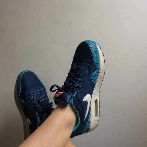 newest 8766e 9d1c2  bethgriffithsxo. 3 years ago. Bodmin, Bodmin, Cornwall, UK. blue leopard  print nike air max ...
