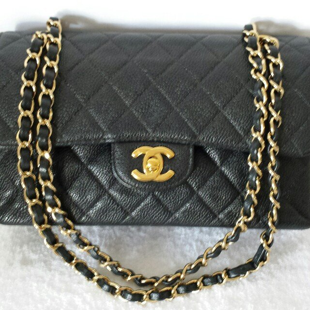 49619a5fac93 100% Authentic Chanel Classic 2.55 Cavier Double flap - Depop