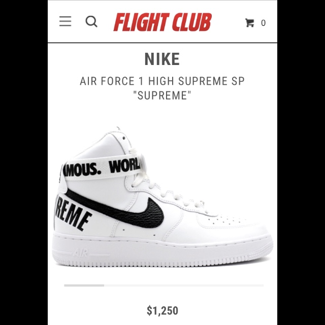 Hi guys! I want to sell my SUPREME x Air Force 1    - Depop