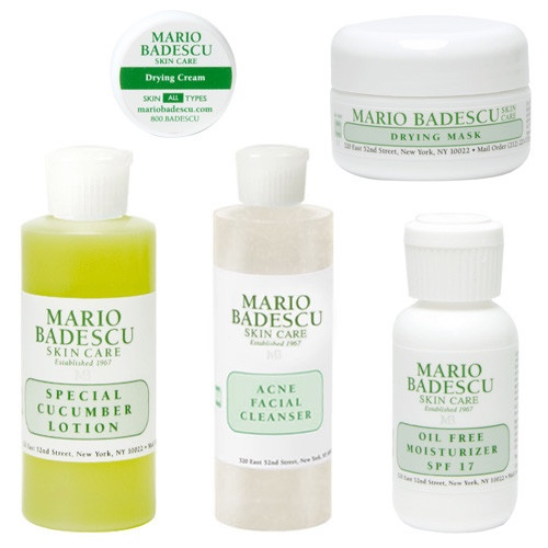 Mario Badescu Acne Starter Kit Used Once But Not Depop
