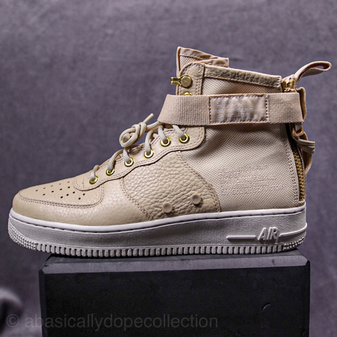 Nike Air Force 1 Nike SF AF1 mid Colour Beige Depop