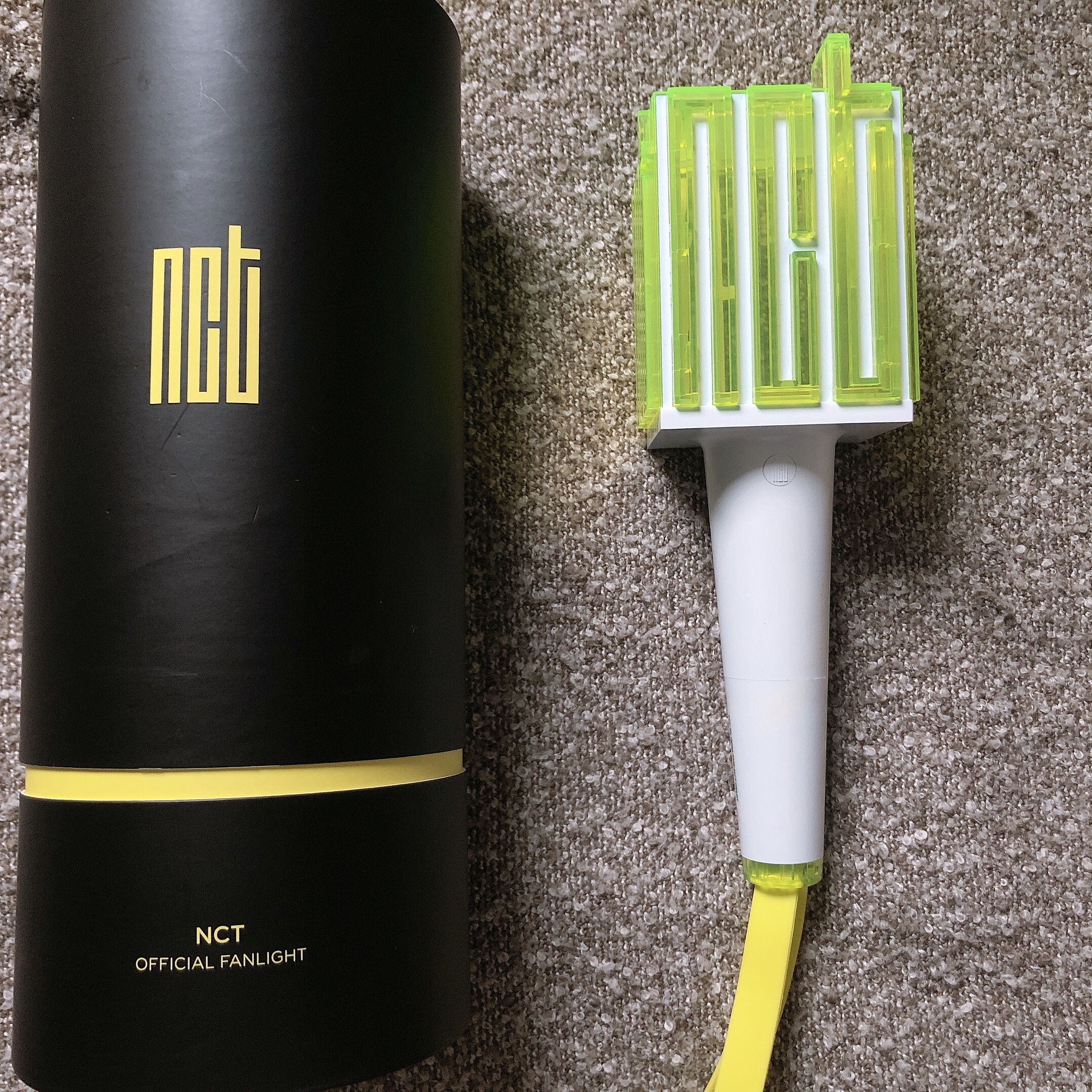 💚NCT OFFICIAL LIGHTSTICK 💚 -NEW:Used once only for    - Depop