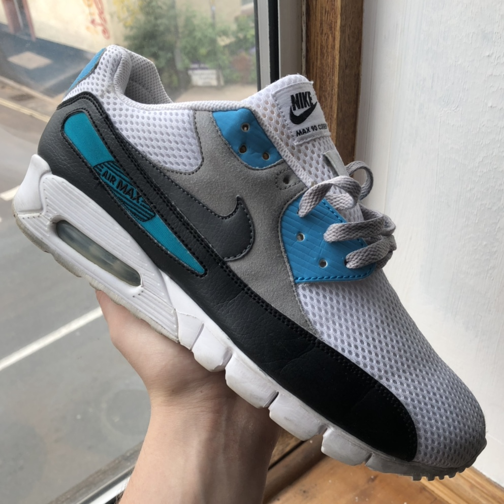 Nike Air Max 90 Current ID from 2011 Size 9uk Worn Depop