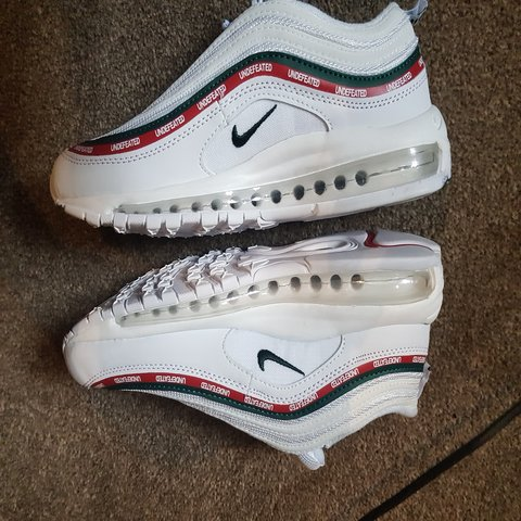 83b4445365fb Nike Air max 97 Undefeated in white - replicas - - 10 10 - - Depop