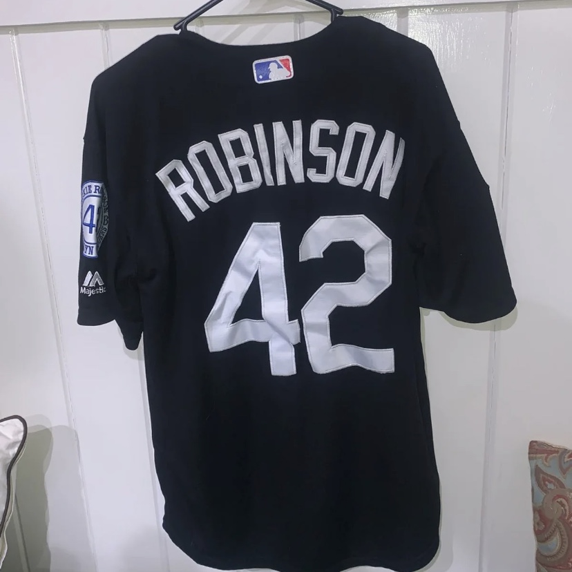 new arrival 82f9e 82724 Limited edition Jackie Robinson jersey Cooperstown... - Depop