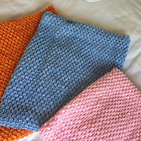 Lined Crochet Boob Tube Reduced Price All Colours Me Depop