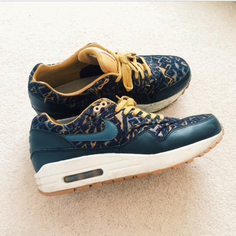 a12e6a28b4 @sophiee_lauren. 3 years ago. Lyminge, Kent, UK. Rare limited special  edition Nike air max 1 black ...