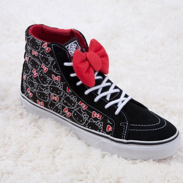 d20331d74bf Hello Kitty vans. Shoes. Abbey Dawn by Avril Lavigne. For - - Depop