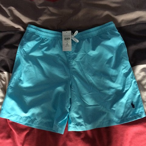 6feb25b87b @atkins0nj. 3 years ago. Bicester, Bicester, Oxfordshire, UK. Polo Ralph  Lauren swimming trunks   Light Blue   Size: ...