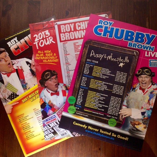 ROY CHUBBY BROWN posters x3 comedy band Poster size A3 will - Depop