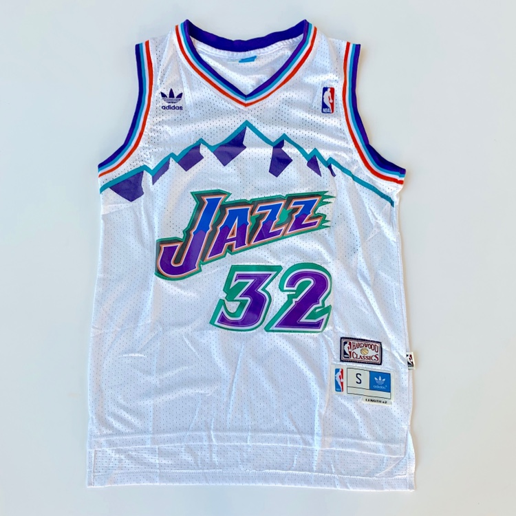 cheap for discount 9a33e b5d82 UTAH JAZZ KARL MALONE RETRO JERSEY ⚡️FREE... - Depop