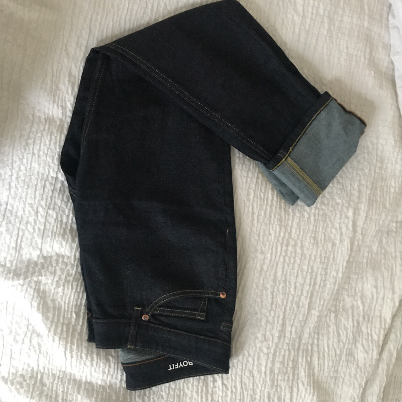 selected material arriving attractivedesigns Muji boyfit jeans brand new without label. I bought... - Depop