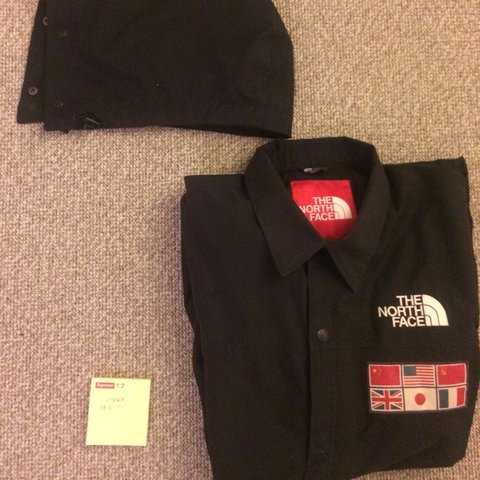 68ff6218d3 Supreme the north face tnf expedition coat from ss14 i Black - Depop