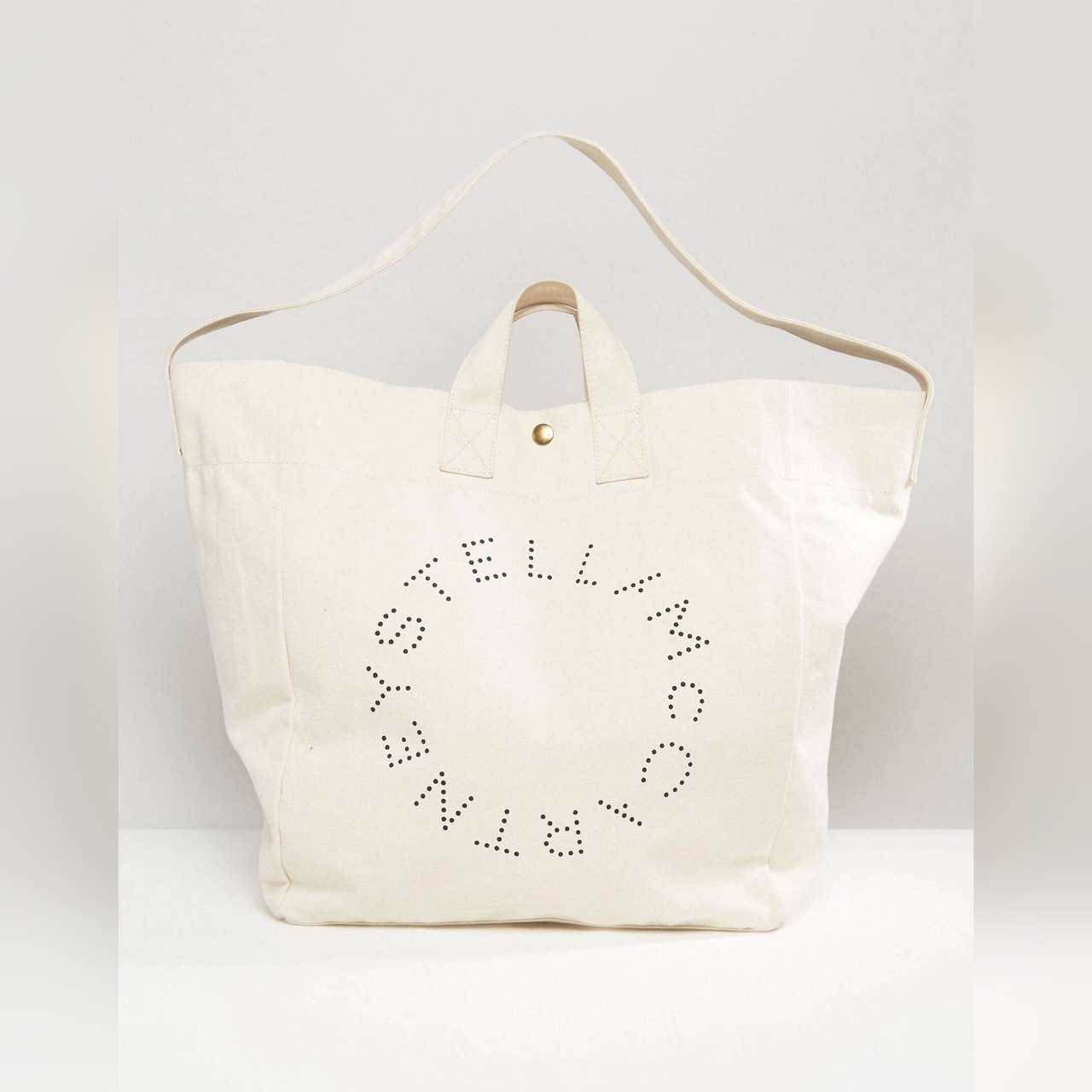 moderate price outlet high quality guarantee 100% authentic Genuine Stella McCartney beach bag ...