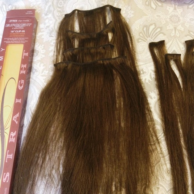 Euronext Humanhair Extensions These Are Human Hair And 18 Depop