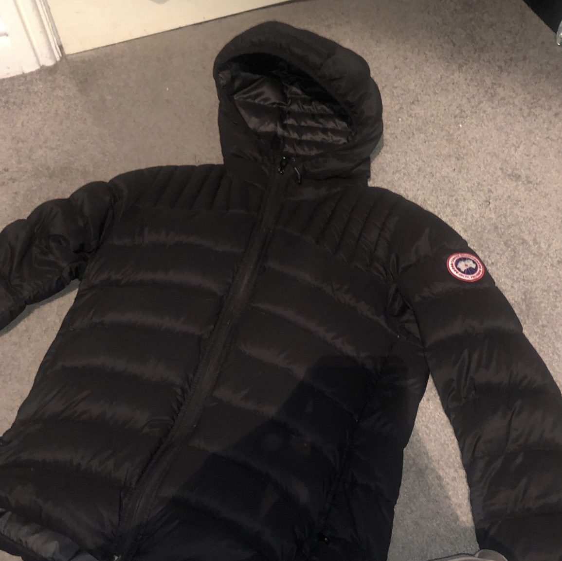 new specials to buy latest design Canada Goose Bubble Jacket For Sale, Size Medium,... - Depop