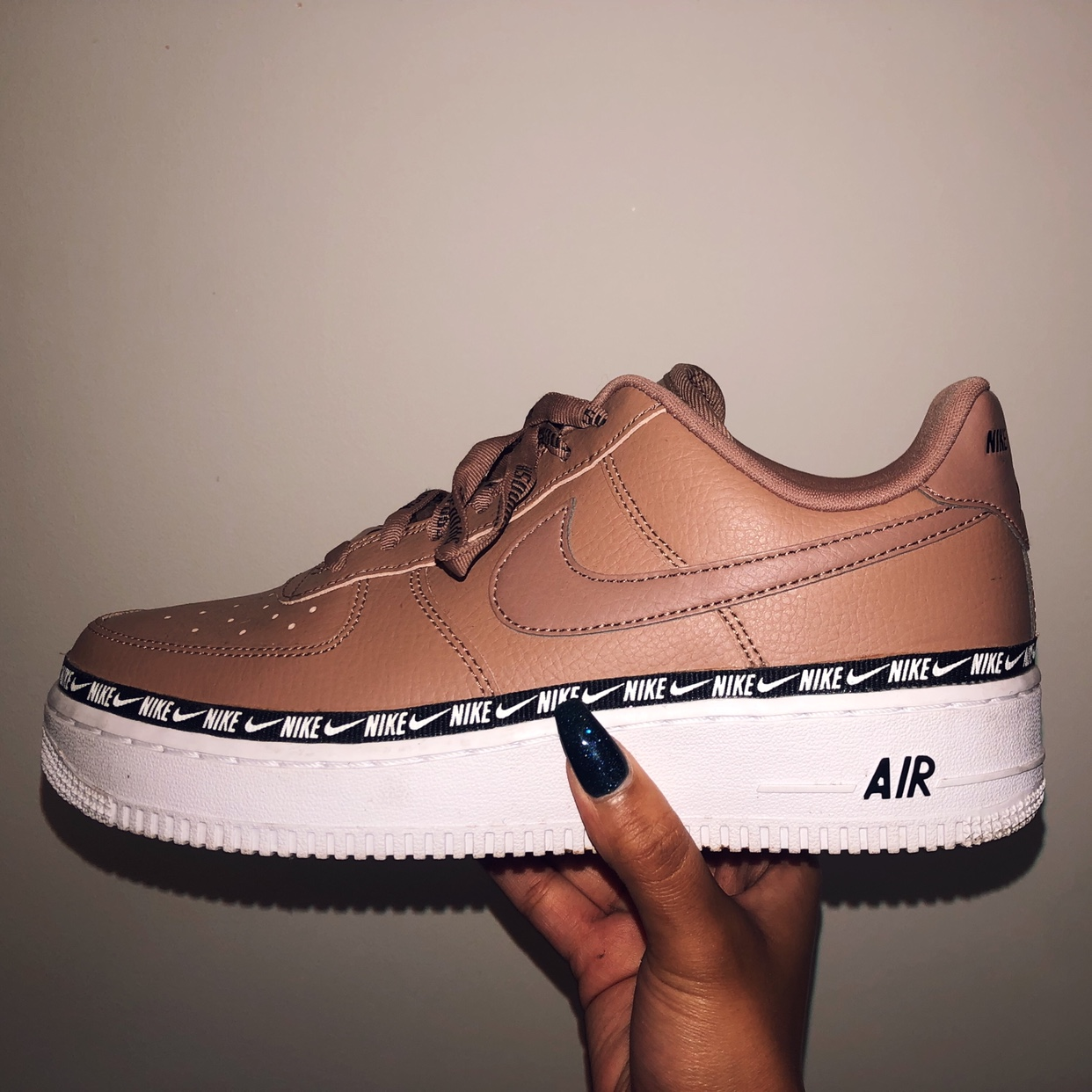 Nike Air Force 1 '07 SPECIAL EDITION Premium Logo Depop