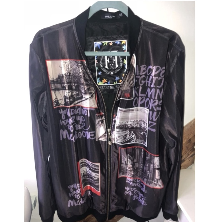 dc8f55ff9 Super comfortable men's Givenchy jacket. Obviously... - Depop