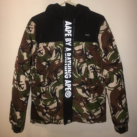 abed1d08627f A bathing ape bape Aape puffer coat jacket with tags