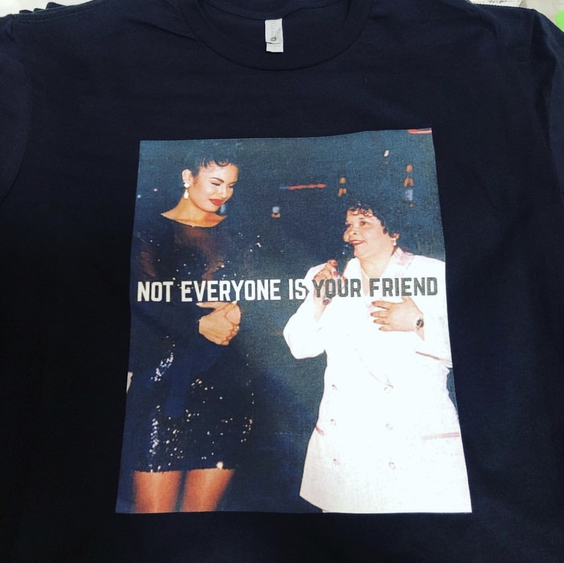 Selena Not Everyone Is Your Friend T Shirt All Depop