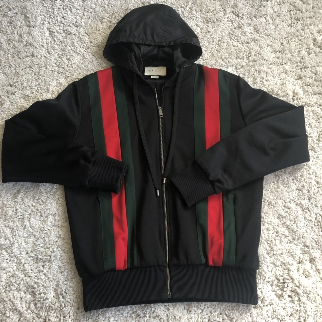 bffb6c65ddc Gucci striped track jacket Condition 9
