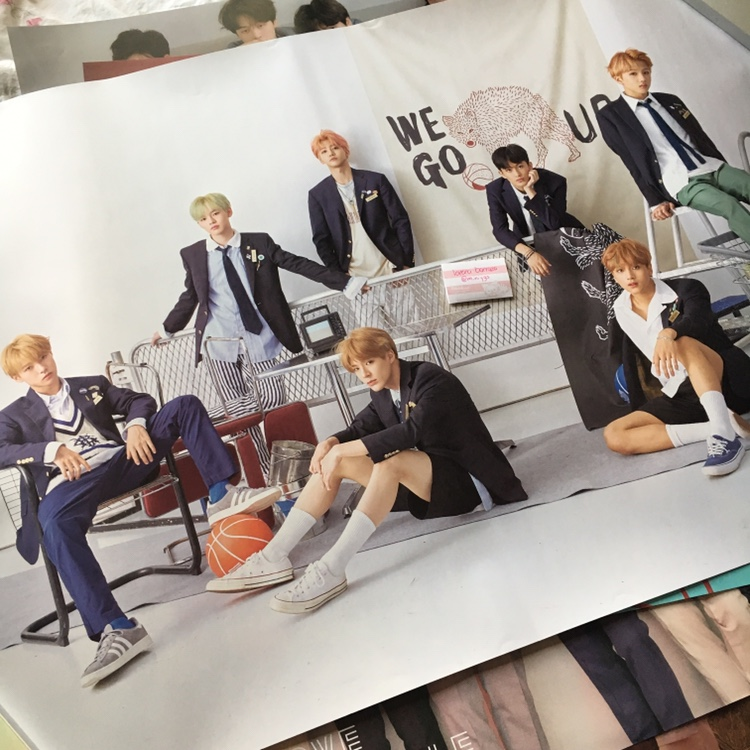 nct dream we go up poster don't have any room to    - Depop