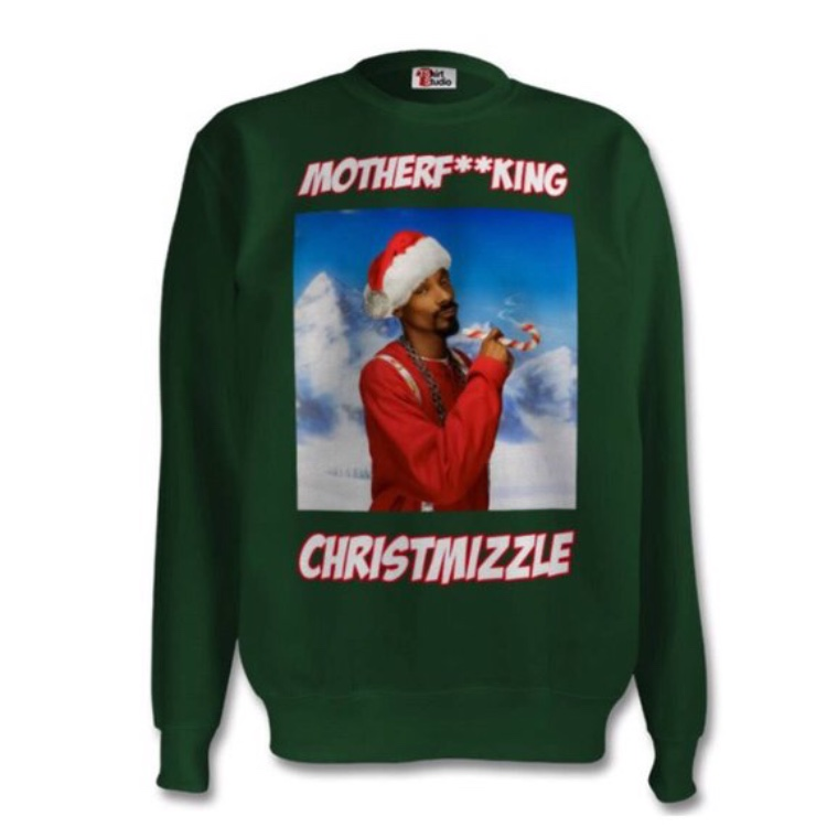 Snoop Dogg Christmas.Snoop Dogg Christmas Xmas Sweater Jumper Festive Depop