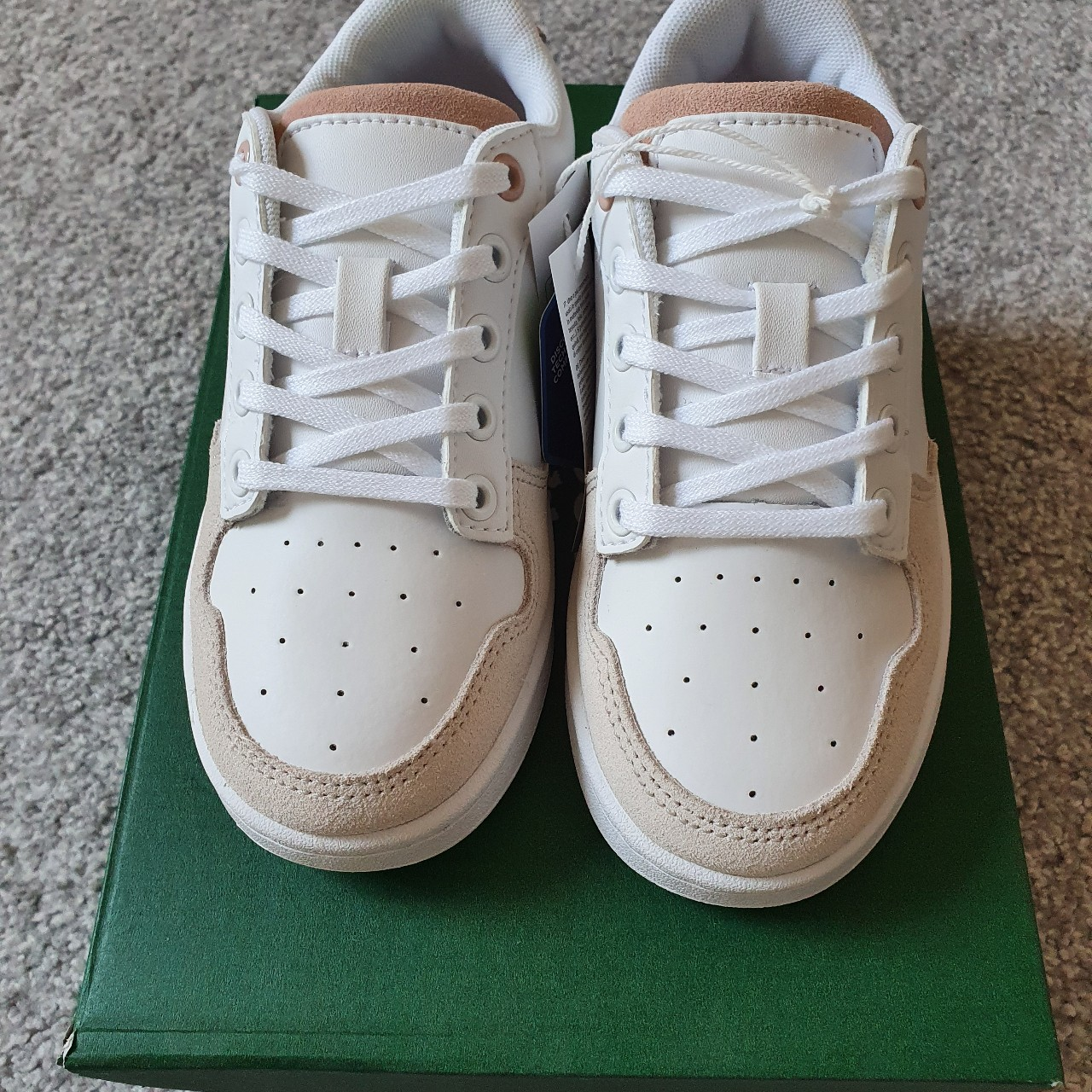 Girls lacoste trainers Brand new in box
