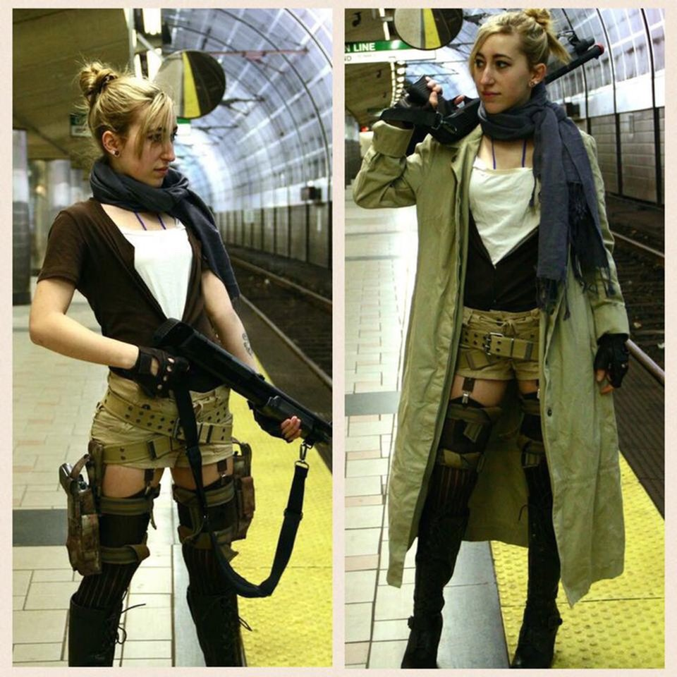 Alice Cosplay From Resident Evil Extinction Depop