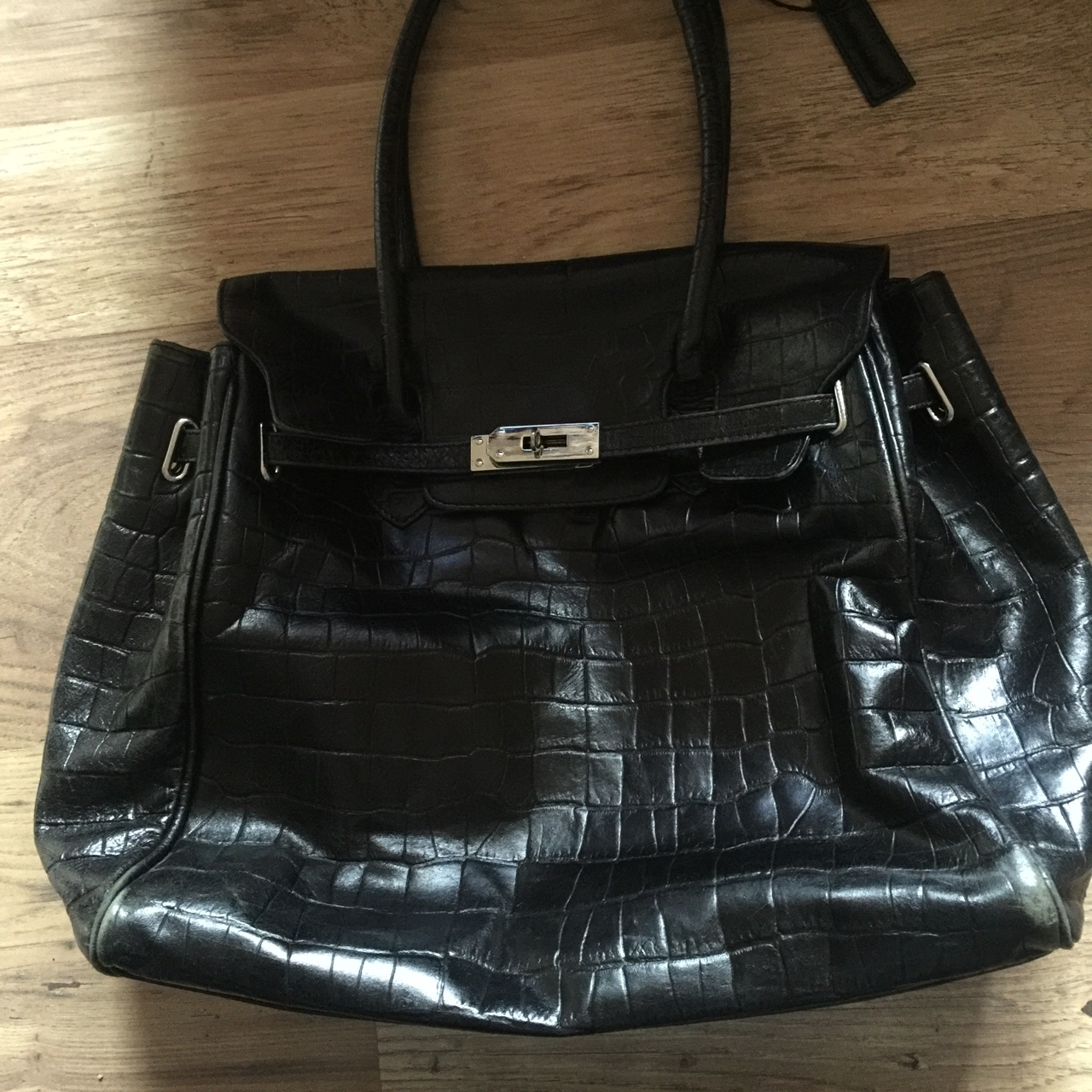 Genuine Leather Austin Reed Bag Excellent Condition Depop