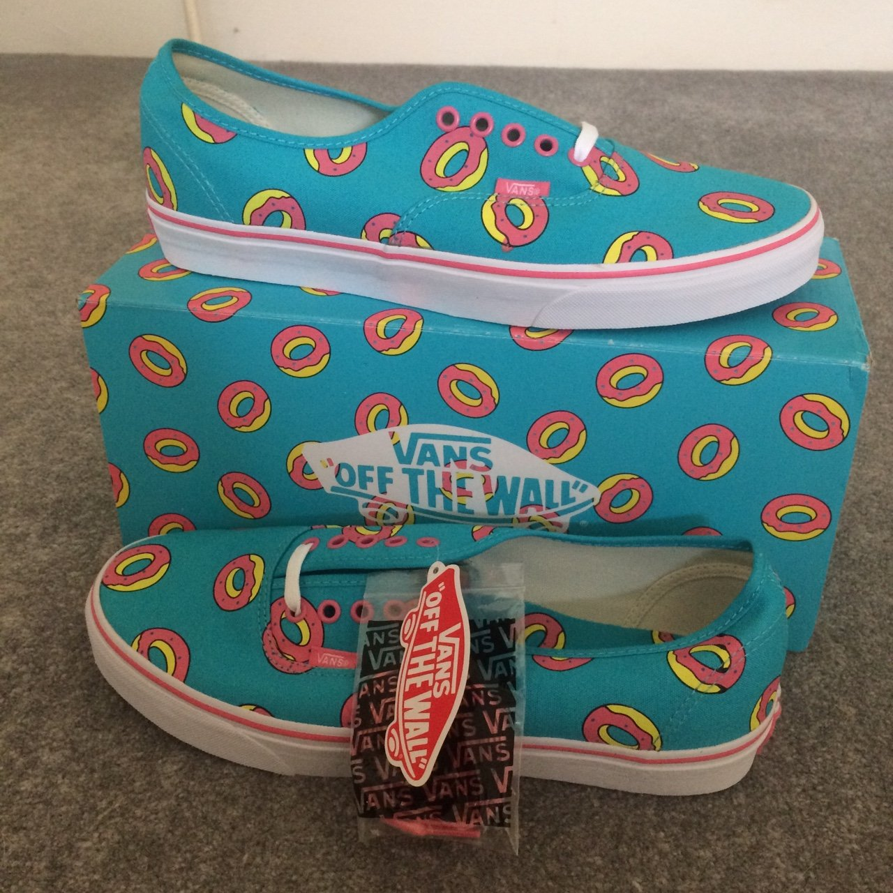 c325941ccaa3 SOLD OUT   RARE Golf Wang Vans • Size 10.5 but can also fit - Depop