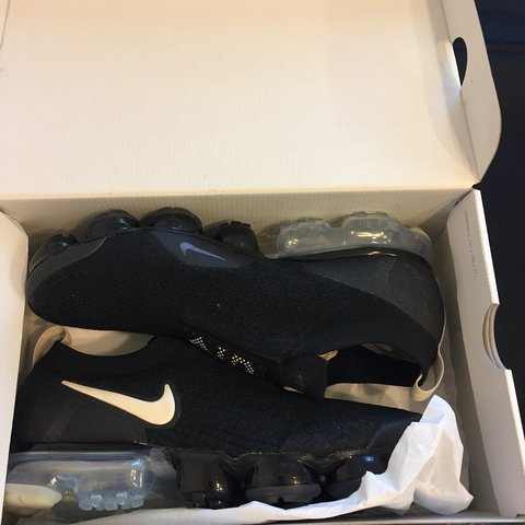 a8344fbfb1d Nike Vapormax moc 2 black with box. Message with questions - Depop